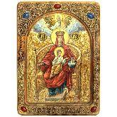 Образ Божией Матери Державная, Живописная икона, 21Х29