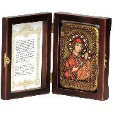 Образ Божией Матери Иверская, Настольная икона, 10 Х15