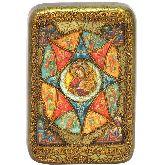 Образ Божией матери Неопалимая купина, Настольная икона, 10 Х15