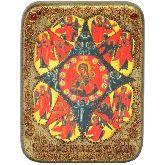 Образ Божией матери Неопалимая купина, Подарочная икона, 15 Х20