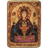 Образ Божией матери Неупиваемая чаша, Аналойная икона, 21 Х29