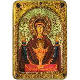 Образ Божией матери Неупиваемая чаша, Живописная икона, 21 Х29