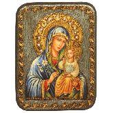 Образ Божией Матери Неувядаемый Цвет, Подарочная икона, 15 Х20