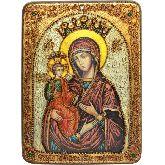 Образ Божией Матери Троеручица, Аналойная икона, 21 Х29