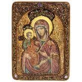 Образ Божией Матери Троеручица, Живописная икона, 21 Х29