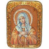 Образ Божией Матери Умиление Серафимо-Дивеевская, Аналойная икона, 21 Х29