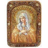 Образ Божией Матери Умиление Серафимо-Дивеевская, Живописная икона, 21 Х29