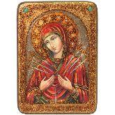 Образ Божией Матери Умягчение злых сердец, Аналойная икона, 21 Х29