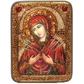 Образ Божией Матери Умягчение злых сердец, Подарочная икона, 15х20