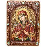 Образ Божией Матери Умягчение злых сердец, Живописная икона, 21 Х29