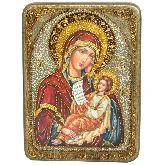 Образ Божией Матери Утоли моя печали, Аналойная икона, 21 Х29