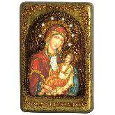 Образ Божией Матери Утоли моя печали, Настольная икона, 10 Х15