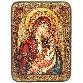 Образ Божией Матери Утоли моя печали, Подарочная икона, 15 Х20