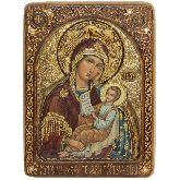 Образ Божией Матери Утоли моя печали, Живописная икона, 21 Х29