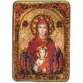 Образ Божией матери Знамение, Аналойная икона, 21Х29