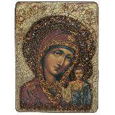 Образ Казанской Божией Матери, Аналойная икона, 21Х29
