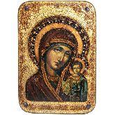 Образ Казанской Божией Матери, Большая икона, 29Х42
