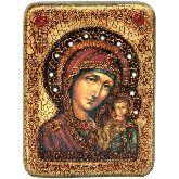 Образ Казанской Божией Матери, Подарочная икона, 15Х20