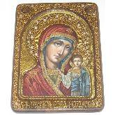 Образ Казанской Божией Матери, Живописная икона, 21 Х29
