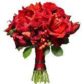 """Букет цветов """"Огненная страсть"""""""
