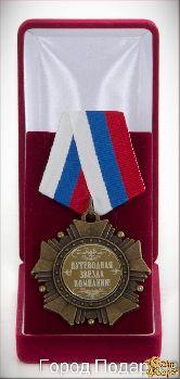 Орден подарочный Путеводная звезда компании!