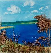 Озеро в поле