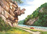 "Картина на холсте ""Статуя Святого Георгия"""