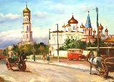 """Картина на холсте """"Московский проспект"""""""