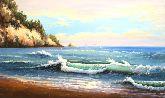 """Картина на холсте """"Дыхание моря"""""""