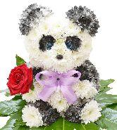 """Игрушка из цветов """"Панда Чиу"""""""