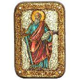 Первоверховный апостол Павел, Настольная икона, 10 Х15