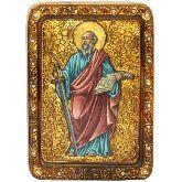 Первоверховный апостол Павел, Живописная икона, 21 Х29