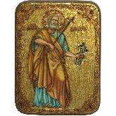 Первоверховный апостол Петр, Подарочная икона, 15 Х20