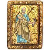 Первоверховный апостол Петр, Живописная икона, 21 Х29