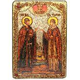 Петр и Февронья, Большая икона, 29 Х42