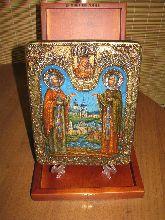 Икона, Петр и Феврония - (муромские)