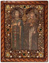 Икона, Петр и Феврония (муромские)