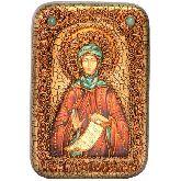 Преподобная Фотиния (Светлана) Палестинская, Настольная икона, 10 Х15