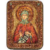 Преподобная Фотиния (Светлана) Палестинская, Подарочная икона, 15 Х20