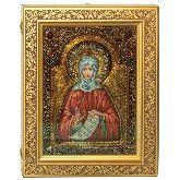Преподобная Фотиния (Светлана) Палестинская, Живописная икона, 21 Х29