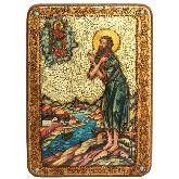Преподобный Алексий, человек Божий, Аналойная икона, 21 Х29
