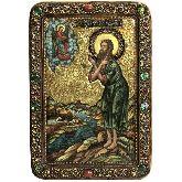 Преподобный Алексий, человек Божий, Живописная икона, 29 Х42