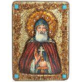 Преподобный Илия Муромец, Печерский, Аналойная икона, 21 Х29