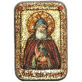 Преподобный Илия Муромец, Печерский, Настольная икона, 10 Х15