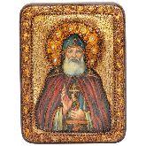 Преподобный Илия Муромец, Печерский, Подарочная икона, 15 Х20