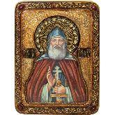 Преподобный Илия Муромец, Печерский, Живописная икона, 21 Х29