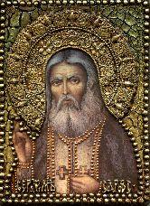 Икона, Преподобный Серафим Саровский