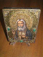 Икона, Преподобный Серафим Саровский, чудотворец-а-