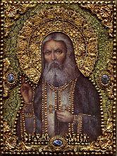 Икона, Преподобный Серафим Саровский, чудотворец