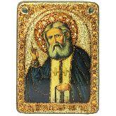 Преподобный Серафим Саровский чудотворец, Аналойная икона, 21 Х29